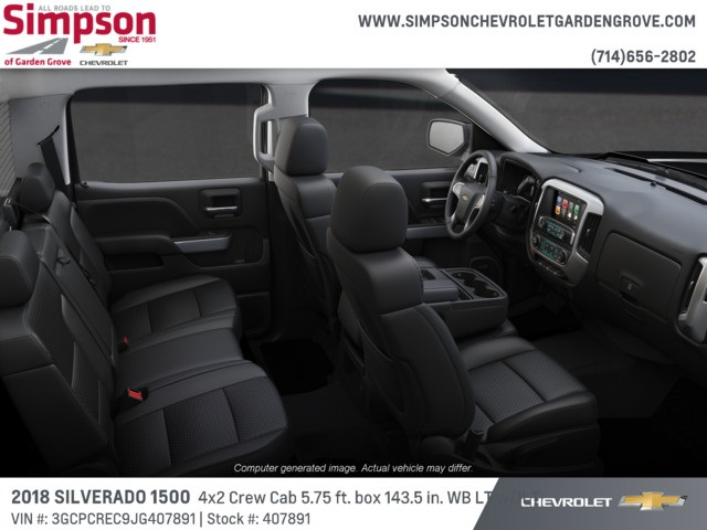 2018 Silverado 1500 Crew Cab 4x2,  Pickup #407891 - photo 6