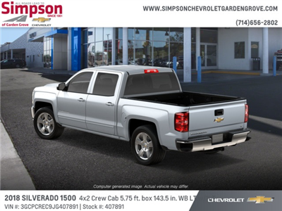 2018 Silverado 1500 Crew Cab 4x2,  Pickup #407891 - photo 2