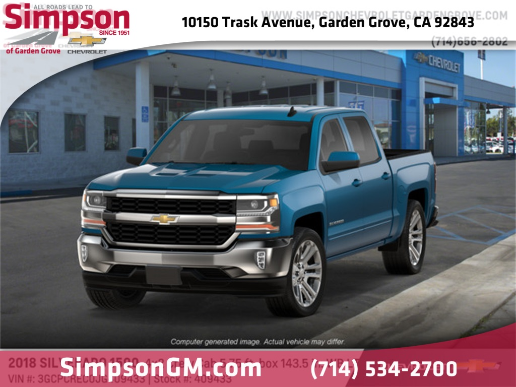 2018 Silverado 1500 Crew Cab 4x2,  Pickup #409433 - photo 1