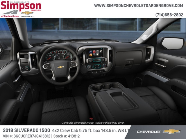2018 Silverado 1500 Crew Cab 4x2,  Pickup #413812 - photo 5