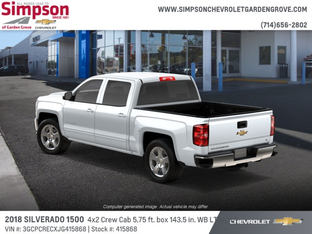 2018 Silverado 1500 Crew Cab 4x2,  Pickup #415868 - photo 2