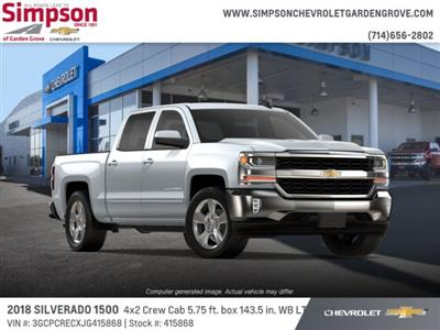 2018 Silverado 1500 Crew Cab 4x2,  Pickup #415868 - photo 4