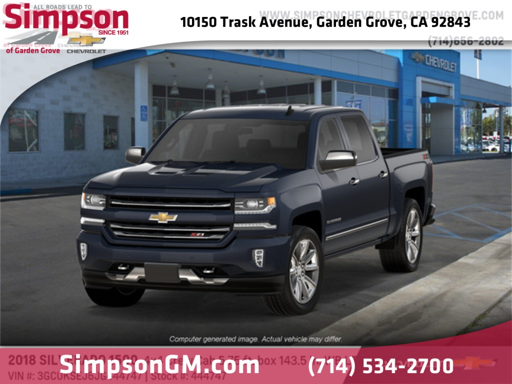2018 Silverado 1500 Crew Cab 4x4,  Pickup #444747 - photo 1