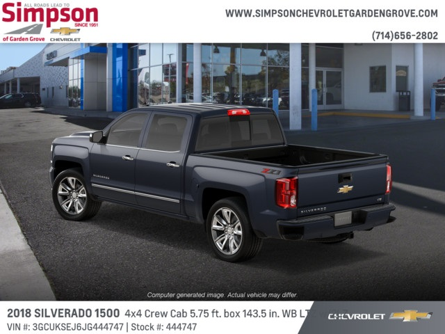 2018 Silverado 1500 Crew Cab 4x4,  Pickup #444747 - photo 2