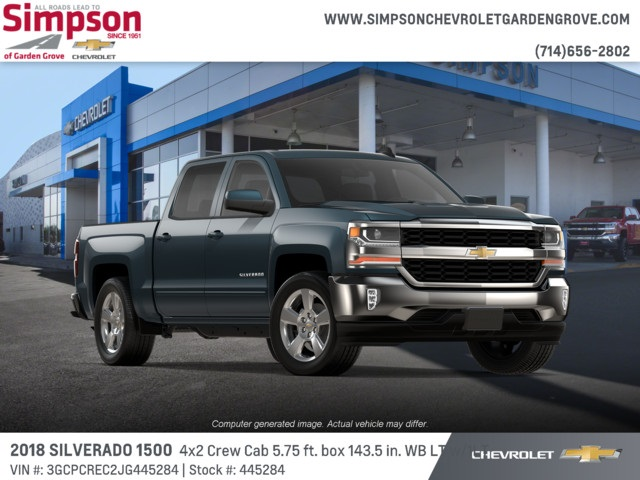 2018 Silverado 1500 Crew Cab 4x2,  Pickup #445284 - photo 4
