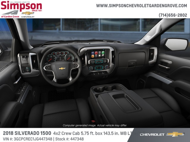 2018 Silverado 1500 Crew Cab 4x2,  Pickup #447348 - photo 5