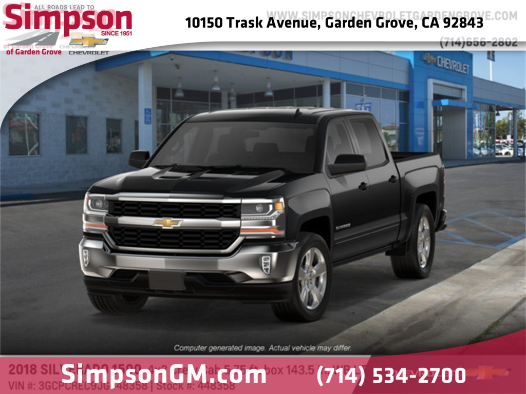2018 Silverado 1500 Crew Cab 4x2,  Pickup #448358 - photo 1