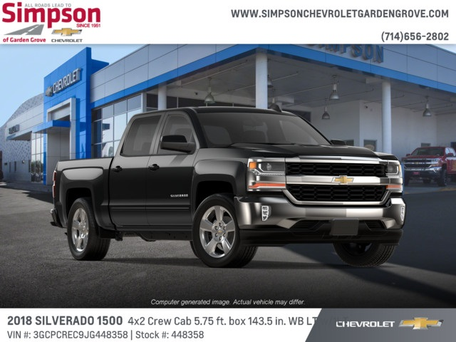 2018 Silverado 1500 Crew Cab 4x2,  Pickup #448358 - photo 4