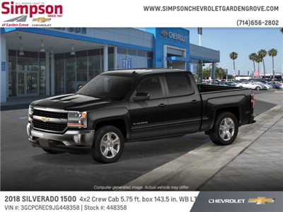 2018 Silverado 1500 Crew Cab 4x2,  Pickup #448358 - photo 3
