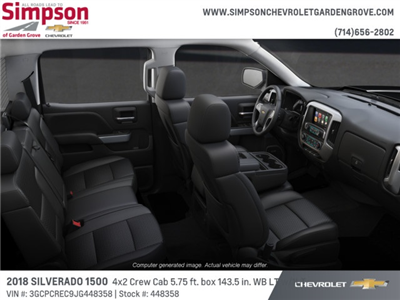 2018 Silverado 1500 Crew Cab 4x2,  Pickup #448358 - photo 6