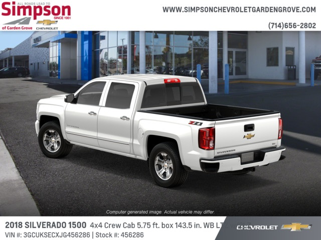 2018 Silverado 1500 Crew Cab 4x4,  Pickup #456286 - photo 2
