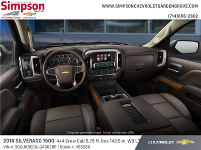 2018 Silverado 1500 Crew Cab 4x4,  Pickup #456286 - photo 5