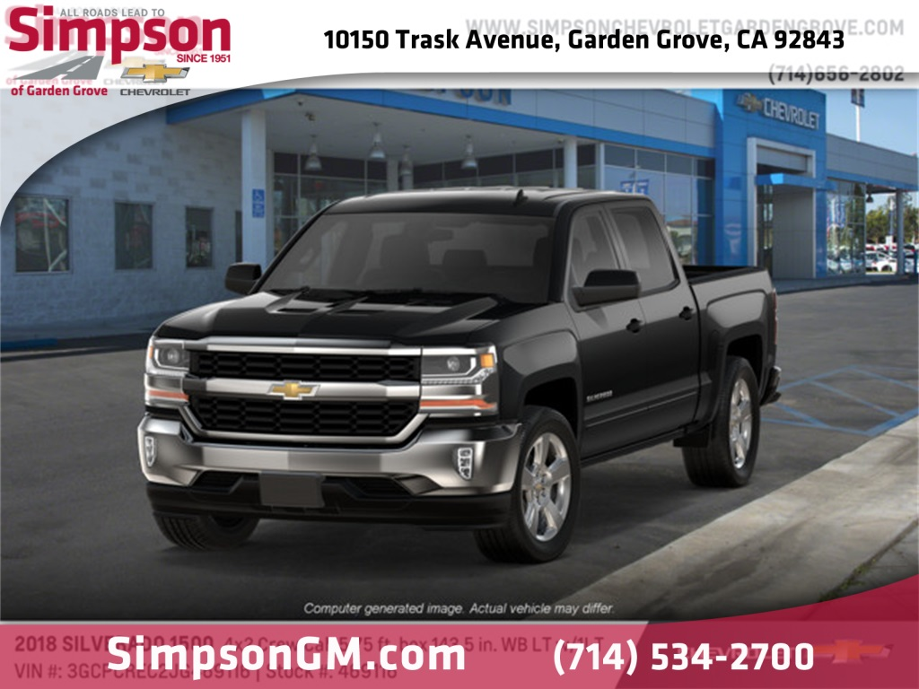 2018 Silverado 1500 Crew Cab 4x2,  Pickup #469116 - photo 1