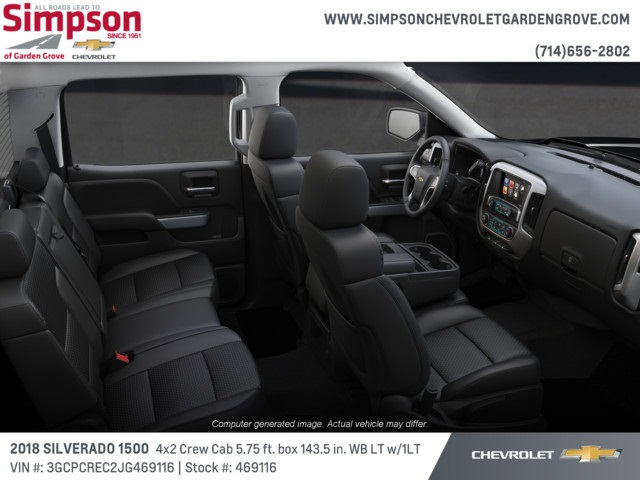 2018 Silverado 1500 Crew Cab 4x2,  Pickup #469116 - photo 6
