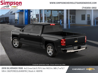 2018 Silverado 1500 Crew Cab 4x2,  Pickup #469116 - photo 2