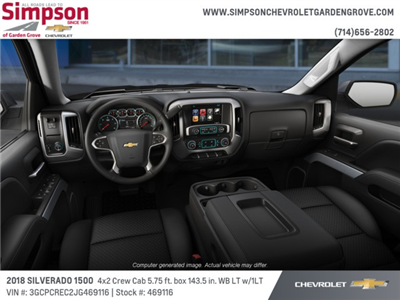 2018 Silverado 1500 Crew Cab 4x2,  Pickup #469116 - photo 5