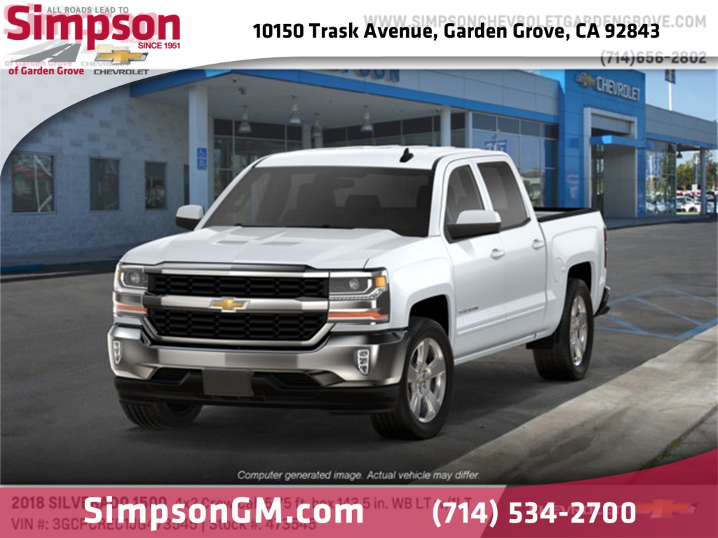 2018 Silverado 1500 Crew Cab 4x2,  Pickup #473545 - photo 1