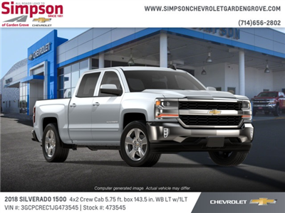 2018 Silverado 1500 Crew Cab 4x2,  Pickup #473545 - photo 4