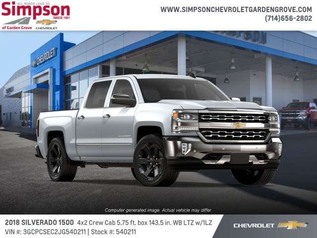 2018 Silverado 1500 Crew Cab 4x2,  Pickup #540211 - photo 4