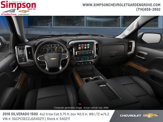 2018 Silverado 1500 Crew Cab 4x2,  Pickup #540211 - photo 5