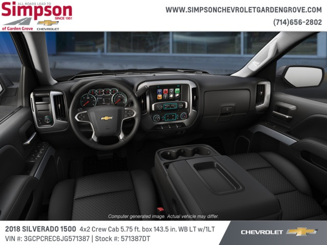 2018 Silverado 1500 Crew Cab 4x2,  Pickup #571387DT - photo 5