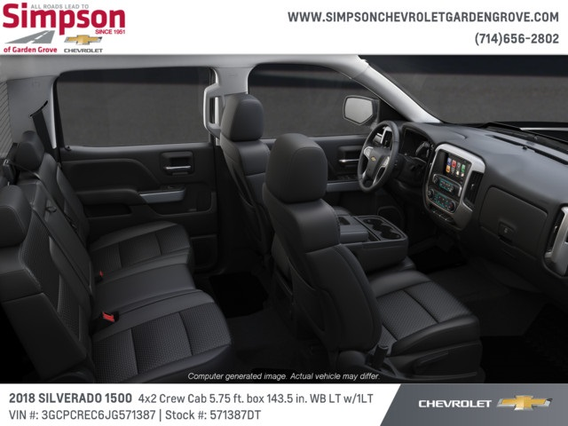 2018 Silverado 1500 Crew Cab 4x2,  Pickup #571387DT - photo 6