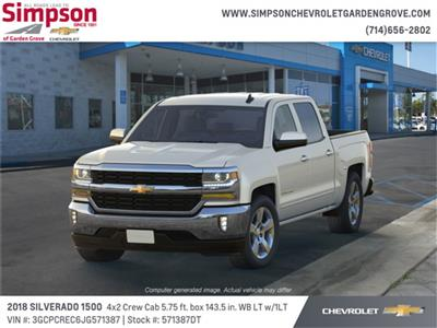 2018 Silverado 1500 Crew Cab 4x2,  Pickup #571387DT - photo 1