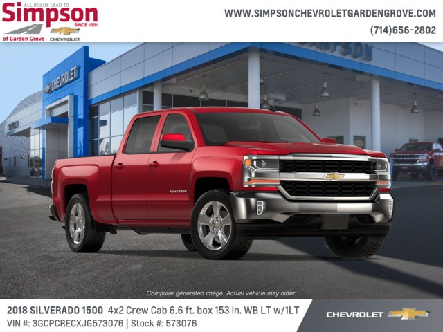2018 Silverado 1500 Crew Cab 4x2,  Pickup #573076 - photo 4