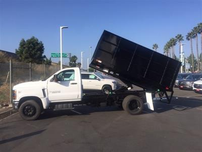 2020 Silverado 5500 Regular Cab DRW 4x2,  Marathon Landscape Landscape Dump #611591 - photo 4
