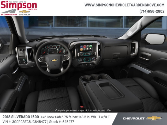 2018 Silverado 1500 Crew Cab 4x2,  Pickup #645477 - photo 5