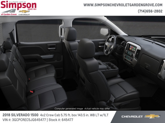 2018 Silverado 1500 Crew Cab 4x2,  Pickup #645477 - photo 6