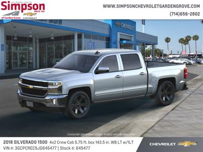 2018 Silverado 1500 Crew Cab 4x2,  Pickup #645477 - photo 3