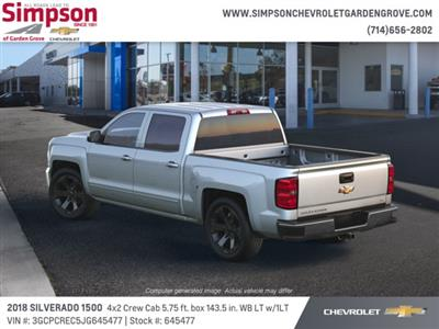 2018 Silverado 1500 Crew Cab 4x2,  Pickup #645477 - photo 2