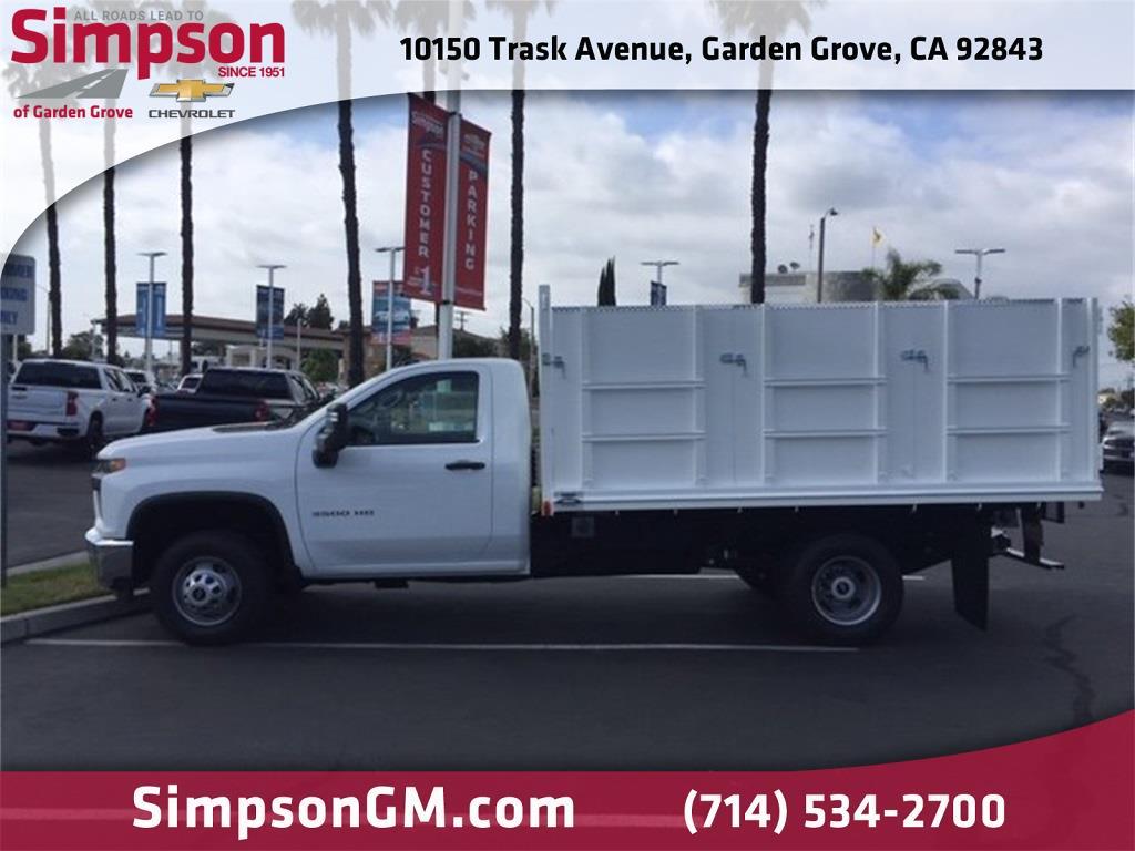 2021 Chevrolet Silverado 3500 Regular Cab 4x2, Martin Truck Bodies Landscape Dump #D121204 - photo 1