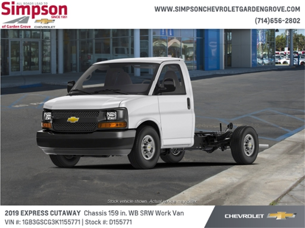 2019 Chevrolet Express 3500 4x2, Cutaway #D155771 - photo 1