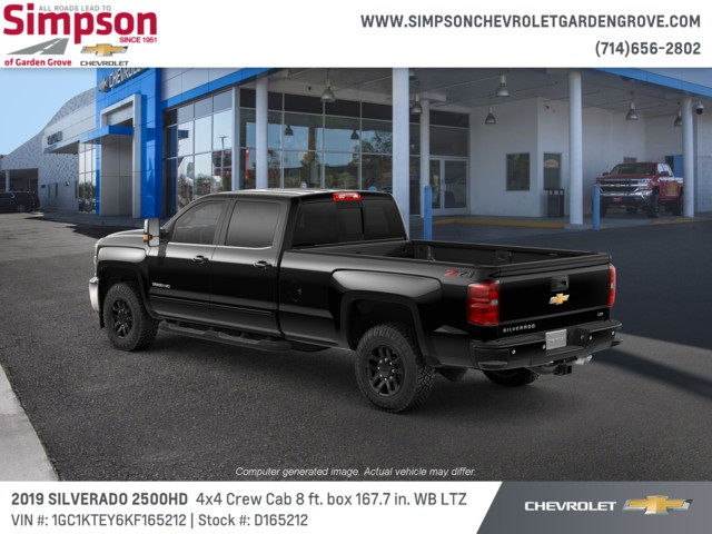 2019 Silverado 2500 Crew Cab 4x4,  Pickup #D165212 - photo 2