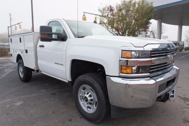2016 Silverado 2500 Regular Cab 4x4, Palfinger Service Body #FJ1925 - photo 6