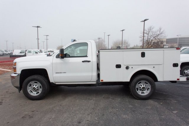 2016 Silverado 2500 Regular Cab 4x4, Palfinger Service Body #FJ1925 - photo 7