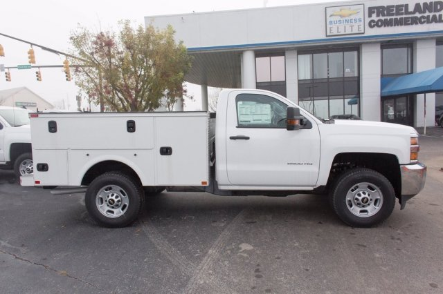 2016 Silverado 2500 Regular Cab 4x4, Palfinger Service Body #FJ1925 - photo 9