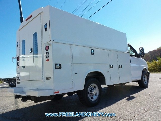 2017 Express 3500, Knapheide Service Utility Van #FK1024 - photo 2