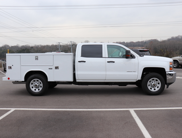 2017 Silverado 3500 Crew Cab 4x4,  Reading SL Service Body #FK1279 - photo 5