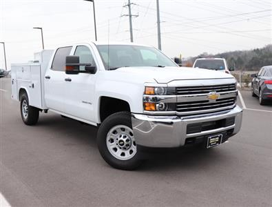 2017 Silverado 3500 Crew Cab 4x4,  Reading SL Service Body #FK1279 - photo 3