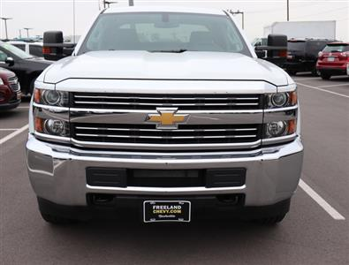 2017 Silverado 3500 Crew Cab 4x4,  Reading SL Service Body #FK1279 - photo 10