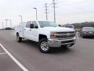 2017 Silverado 3500 Crew Cab 4x4,  Reading SL Service Body #FK1279 - photo 4