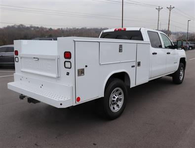 2017 Silverado 3500 Crew Cab 4x4,  Reading SL Service Body #FK1279 - photo 6