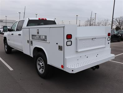 2017 Silverado 3500 Crew Cab 4x4,  Reading SL Service Body #FK1279 - photo 2