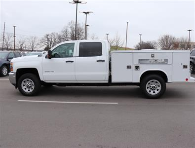 2017 Silverado 3500 Crew Cab 4x4,  Reading SL Service Body #FK1279 - photo 9