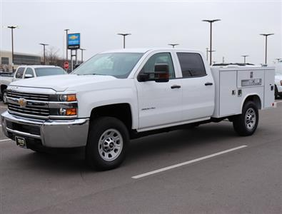 2017 Silverado 3500 Crew Cab 4x4,  Reading SL Service Body #FK1279 - photo 1