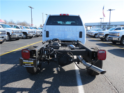 2017 Silverado 3500 Double Cab 4x4, Cab Chassis #FK1341 - photo 4