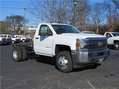 2017 Silverado 3500 Regular Cab DRW 4x4,  Cab Chassis #FK1415 - photo 1